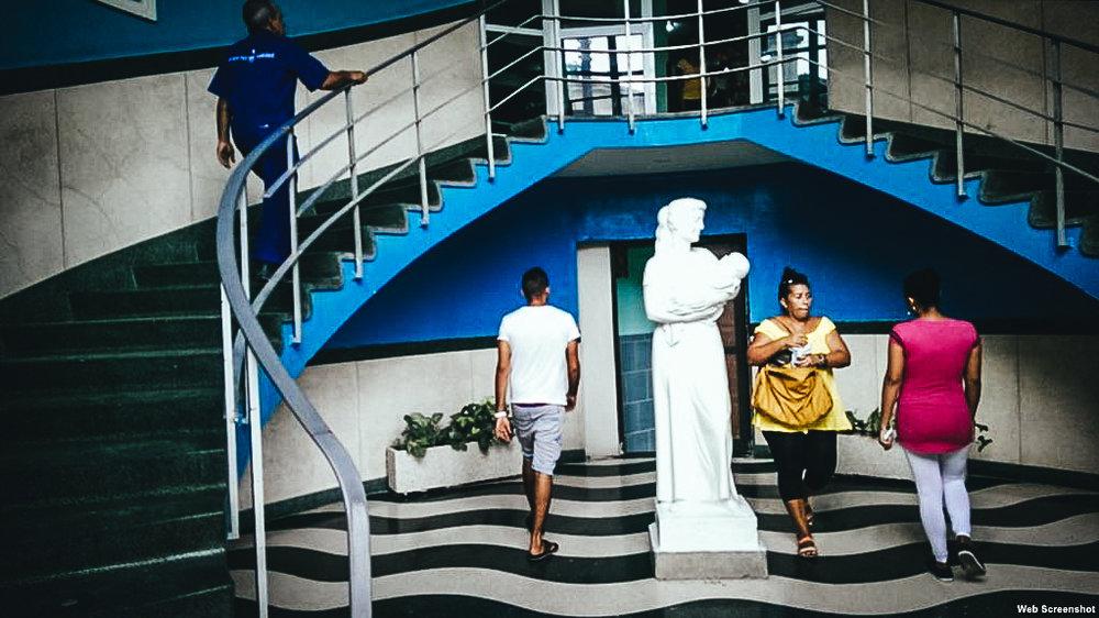Hospital materno infantil Hijas de Galicia, en La Habana. (Foto: Hablemos Press)
