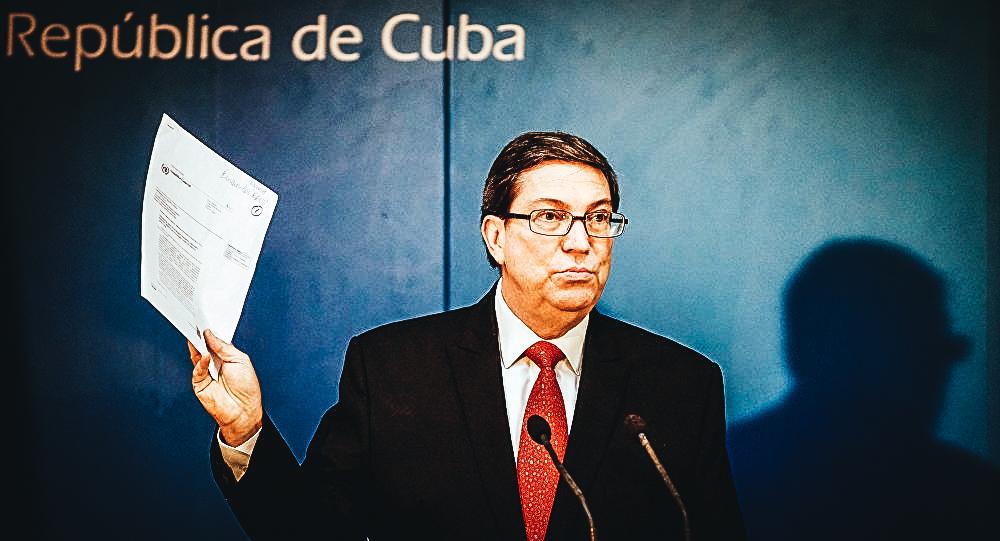 Bruno Rodríguez Parrilla, ministro de Exteriores del regimen cubano - © REUTERS / Alexandre Meneghini