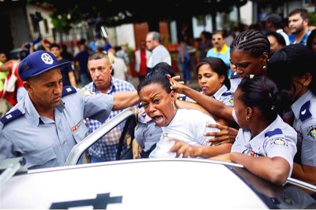 Detenciones arbitrarias del regimen cubano