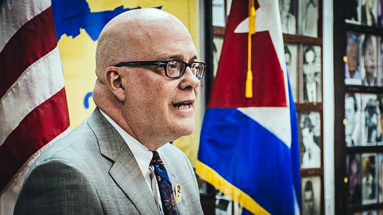 Orlando Gutiérrez, director del Directorio Democrático. FOTO Daniel Castrope