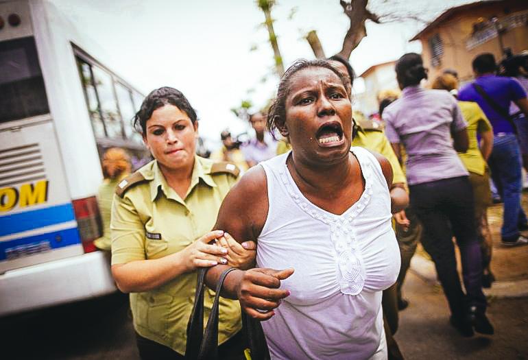El régimen castrista mantiene el totalitarismo y la represión en Cuba.EFE / ARCHIVO