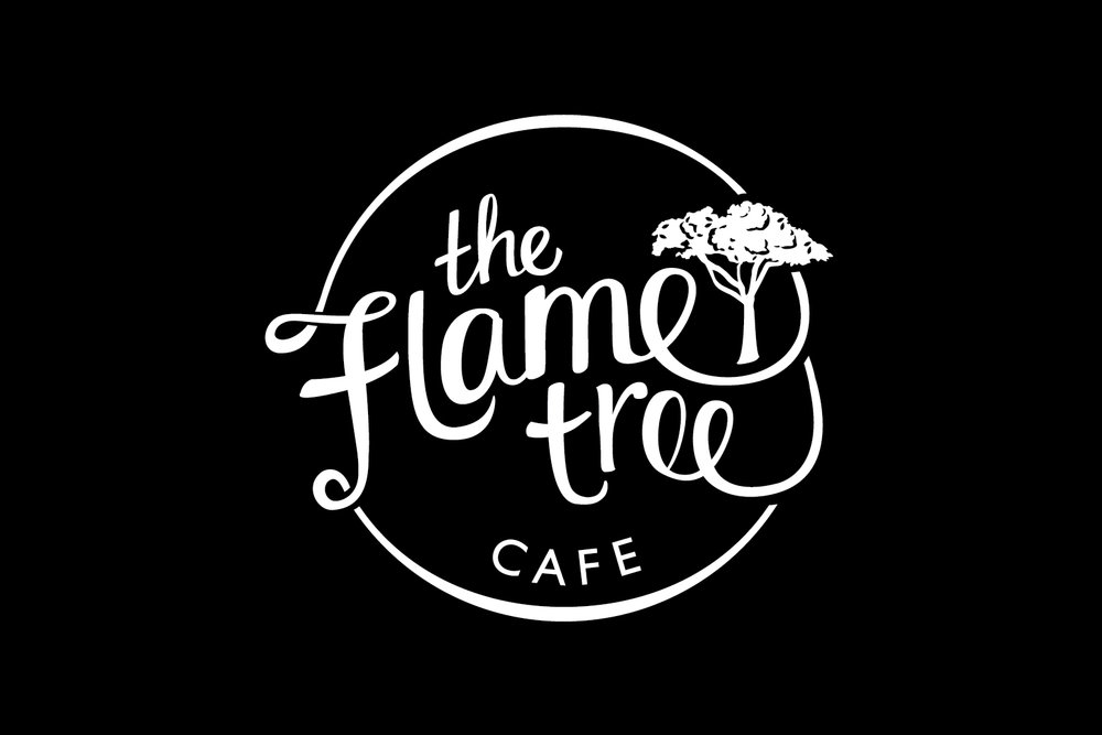 The Flame Tree Cafe - business branding