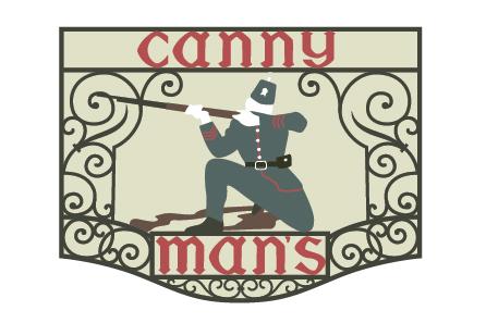 Canny Man's - logo redevelopment