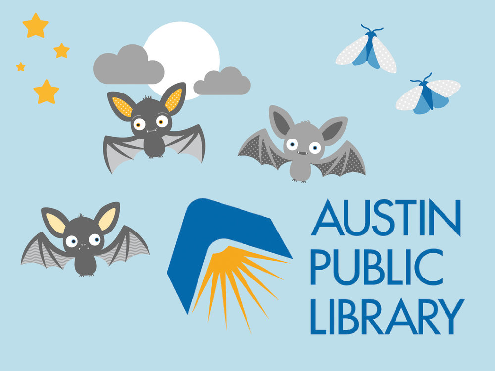 Austin Public Library - bespoke illustrations