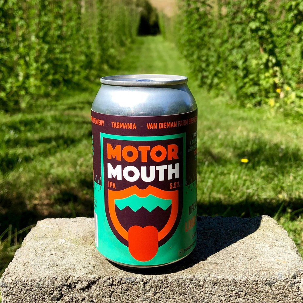 MOTOR MOUTH IPA - LIMITED CANS NOW AVAILABLE