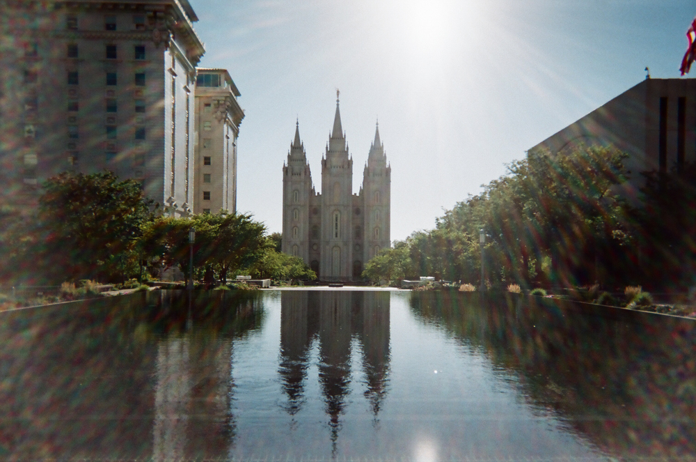 Salt Lake Temple squared.