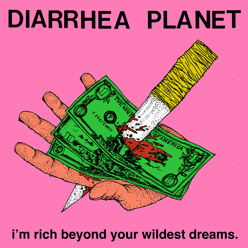 Diarrhea Planet - I'm Rich Beyond Your Wildest Dreams LP