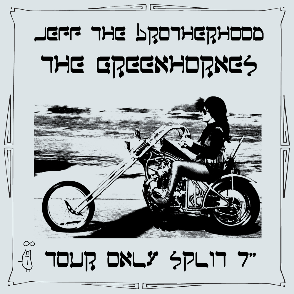 Jeff the Brotherhood/The Greenhornes Split 7""