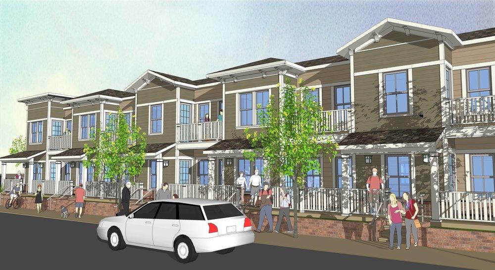 clayton senior housing johnson lyman architects