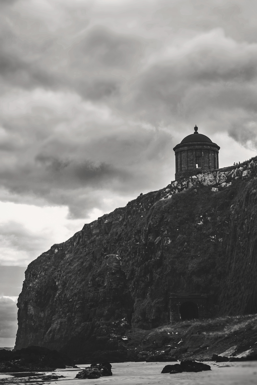 Mussenden Temple. County Derry, Ireland