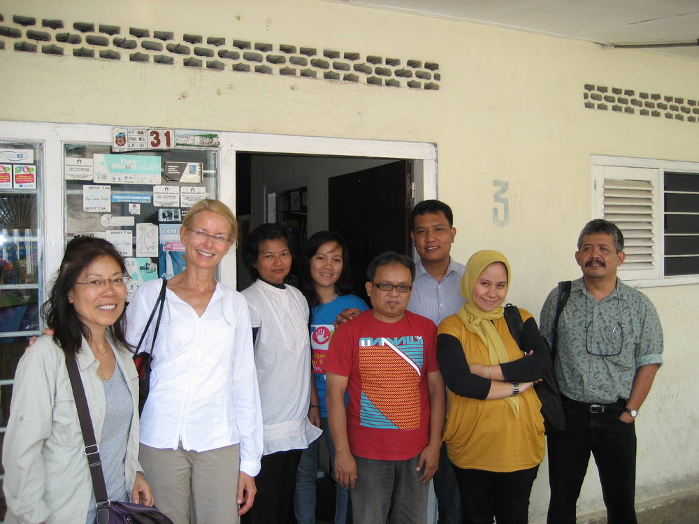 Lada visit. Partner NGO with Save the Children