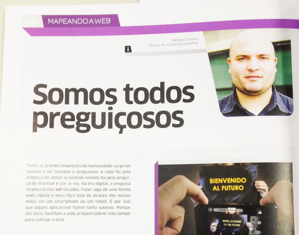 Mapeando a Web revista Proxxima