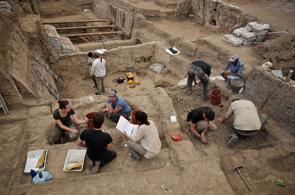 Excavation in South Area