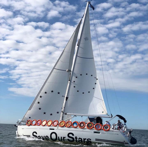 """EUROVISION / 2018   """"I'ts the set of the sail that decides the goal, and not the storm of life."""" But where are we heading today? Tom Herck's interactive artwork    Euro Vision  (2018) explores whether our sails are still set for Europe, or if we might have lost our Eurovision. rebuilding itself in the 1950s, the European Broadcasting Union set up a committee to search for ways of bringing together the countries around a 'light entertainment…    Read more"""