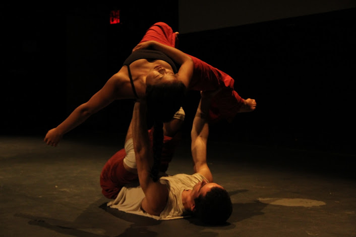 """With Jeremy Finch in """"Sketchbook""""; New York, NY; Photo credit Mimi Bai"""
