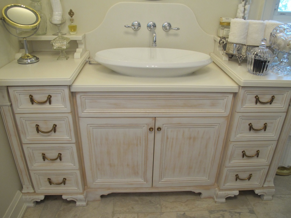 Elegant Best Dresser Used As Bathroom Vanity Pictures Cleocinus