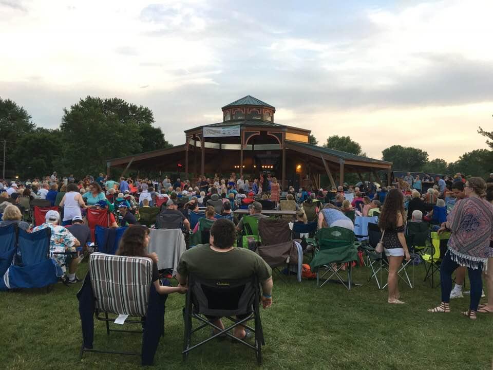 Oakdale Summerfest Bandshell Concert. Photo Courtesy of Ann Hagestad.