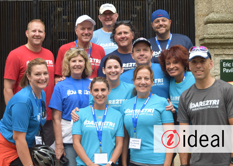 Employees from Chicago based company, Ideal, came out to support our Kids Camp. 7/19/17 -