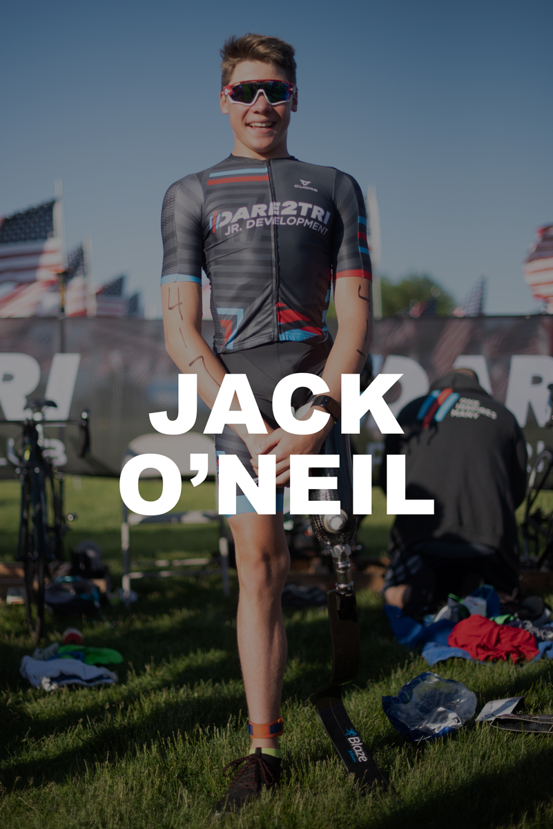Dare2tri Athlete Jack O'Neil