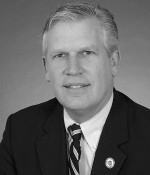 Representative F. Jay Barrows  (R-Mansfield) 36% on Legislative Scorecard