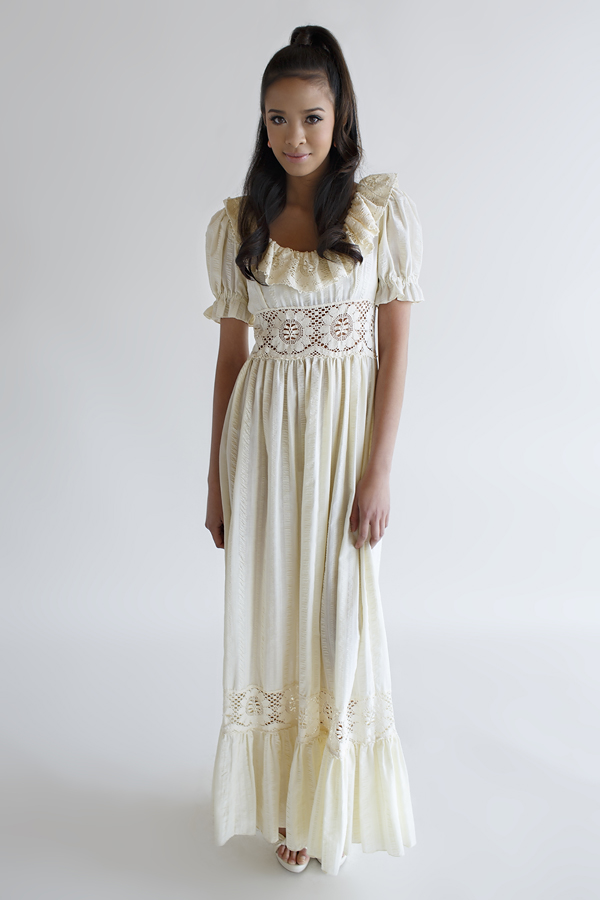Bohemian Vintage Wedding Dress