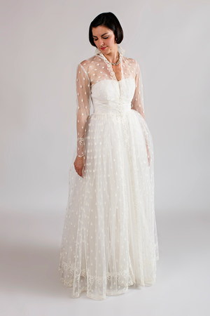 1940s 1950s Beloved Vintage Bridal