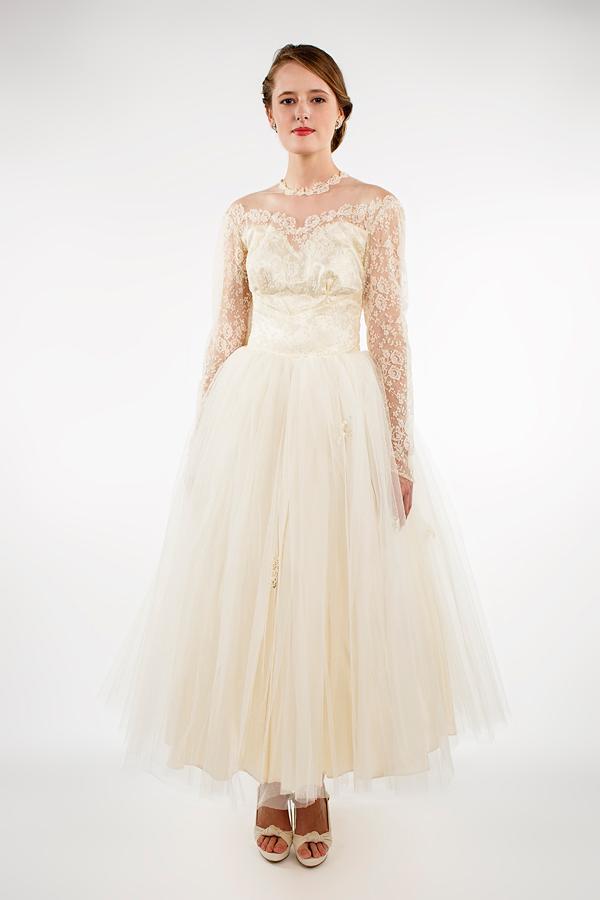 4249e036c701b Sabrina Dress — Beloved Vintage Bridal