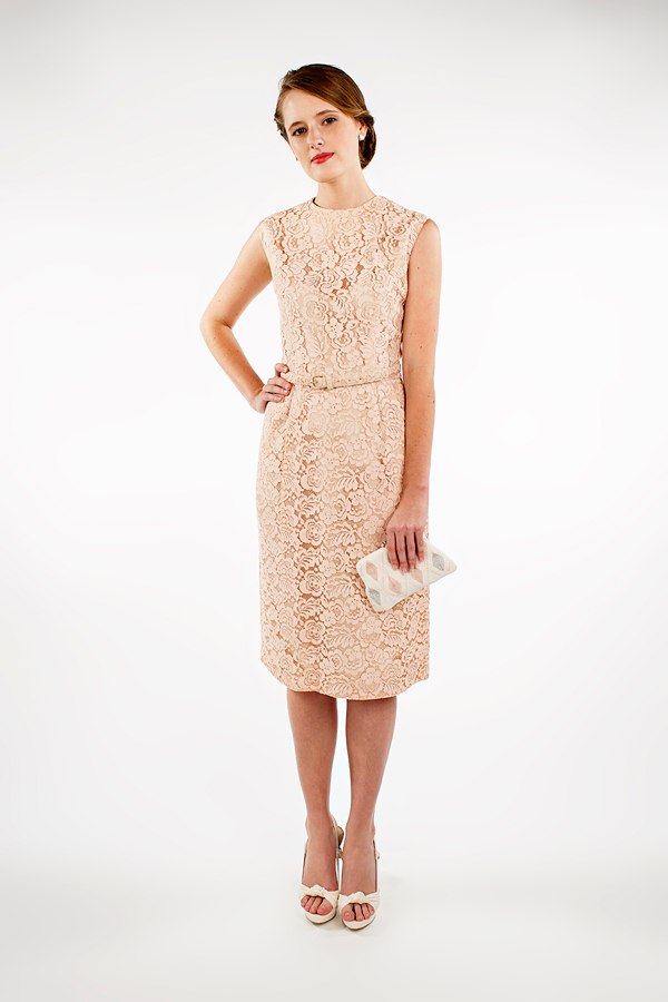 1960s lace bridesmaid dress from Beloved Vintage Bridal