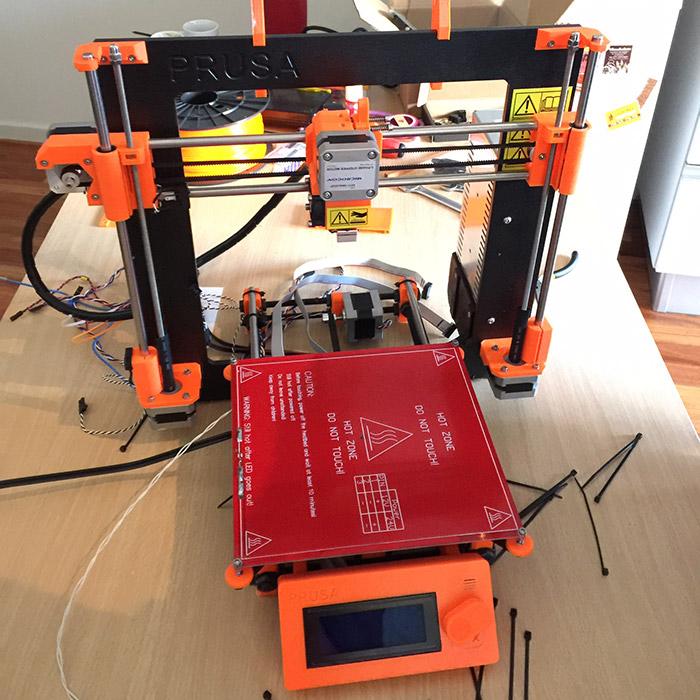 Preparando la impresora