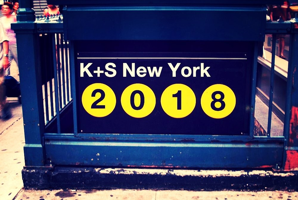 K+S New York 2018 coming May 23-26. -- 2018 will be our 10th festival in New York, a milestone we never thought we'd reach, but that we are thrilled to celebrate. Stay tuned for more info, including films and other events. Sign up for the K+S newsletter!