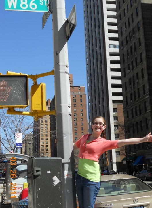Helen on 86th St.!