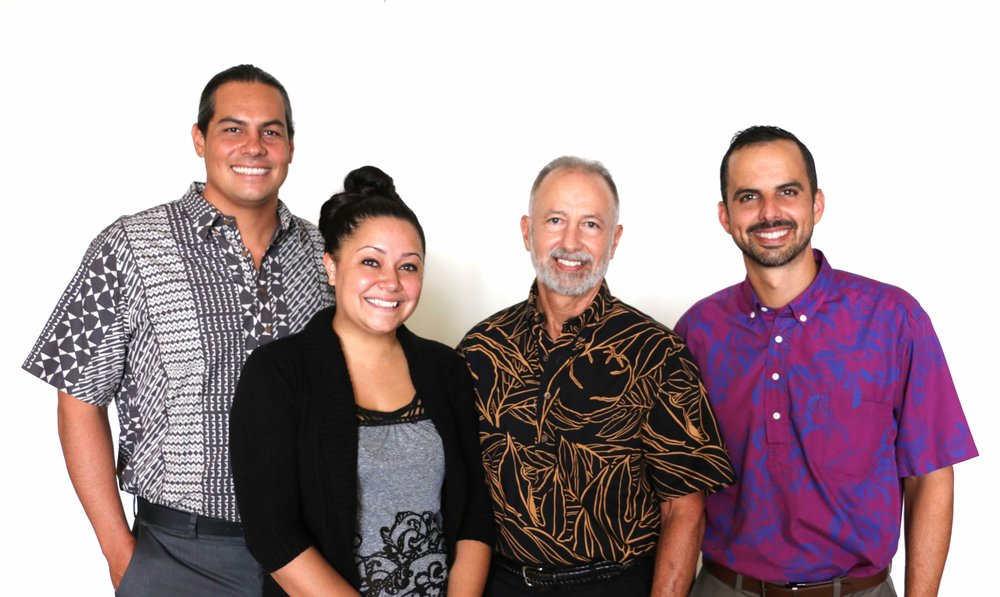Attorney  Kumu Belcher, Administrative Assistant Krystal Perreria, Attorney  Randall Roth (of Counsel), & Attorney John Roth