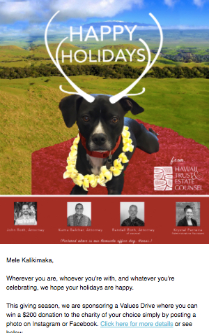 Hawaii trust Law December 2017
