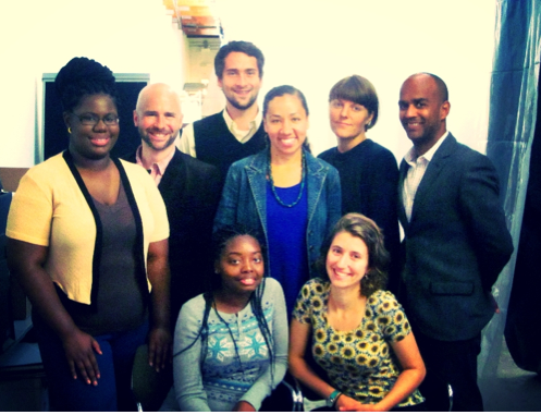 NPHM Staff, Interns, and Researchers in Residents in September 2013. From top to bottom, left to right: Daniel Ronan, Salyndrea Jones, Rich Anderson, Camille Acker, Robin Bartram, Todd Palmer, Savannah White, & Ayelet Pinnolis.