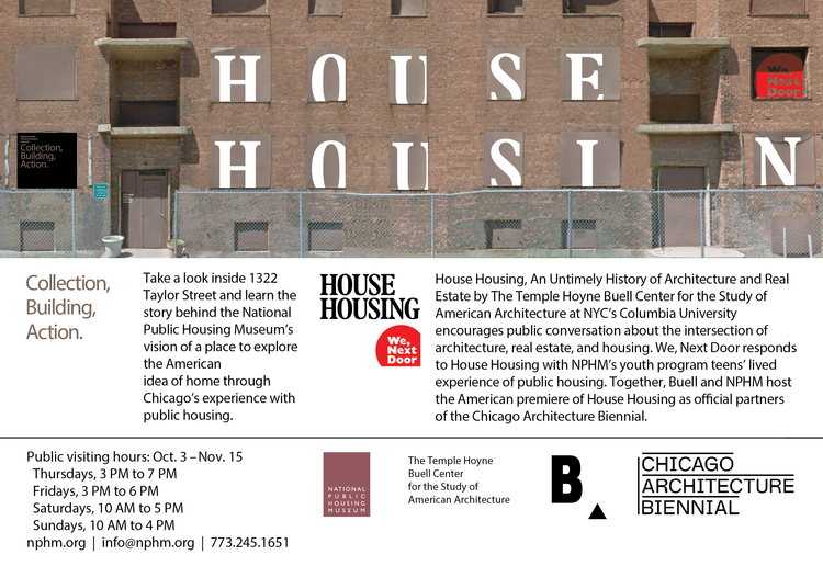 What's New — National Public Housing Museum