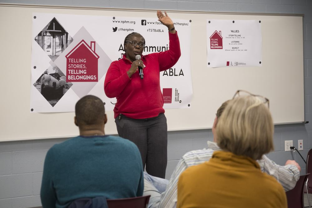 Crystal Palmer, the Vice Chair of the National Public Housing Museum board, shares her story.