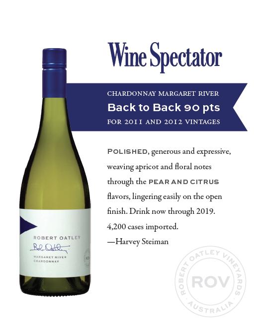 Wine Spectator ROSS Chardonnay back to back 90pts