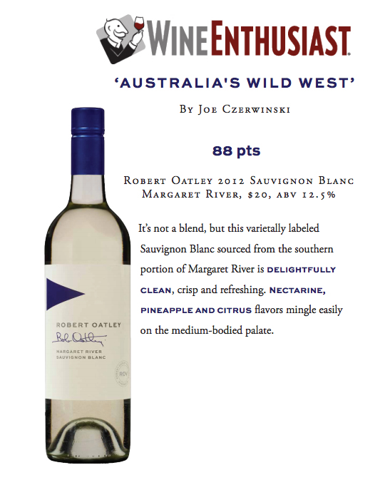 Wine Enthusiast ROSS SB 88pts