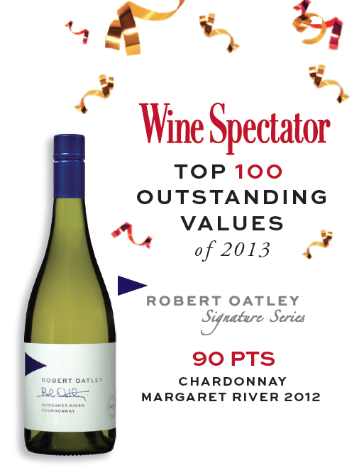 Wine Spectator ROSS 2012 Chard Top 100 of 2013