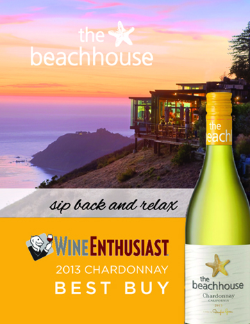 Wine Enthusiast Beachhouse Chardonnay Best Buy