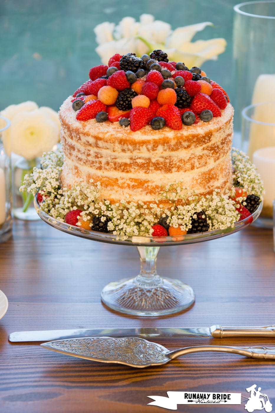 Naked Cake by Nantucket Cake Company