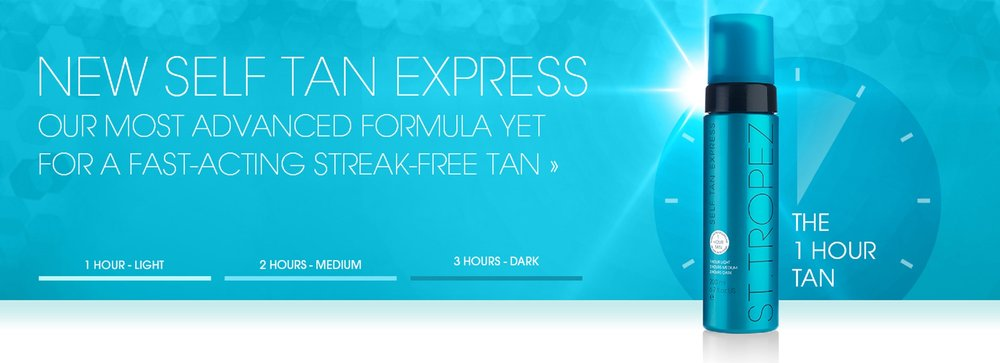 St. Tropez Self tan express - 1 hour tan