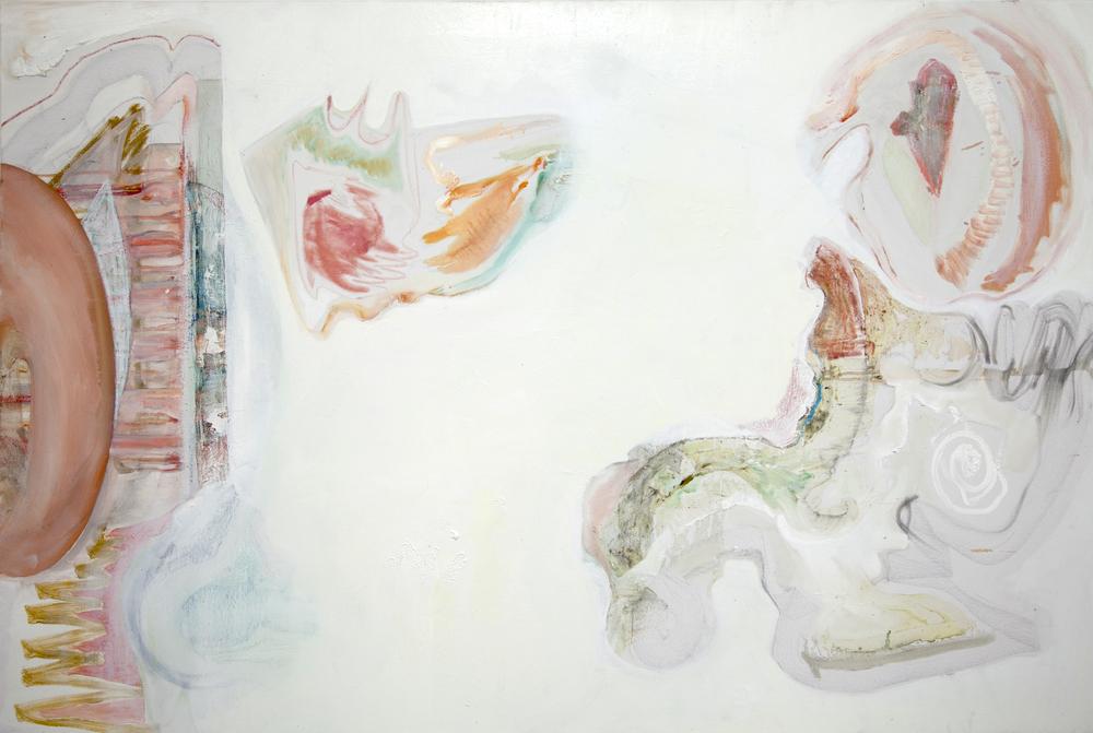 The Annunciation. 48'x72' 2014
