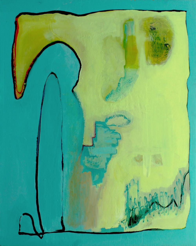 Snaggletooth. 48'x60'. 2015