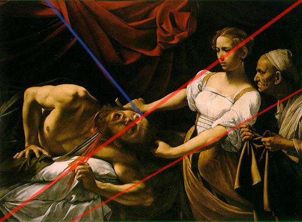 Caravaggio - Judith Beheading Holofernes