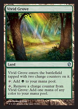Vivid Grove -  card