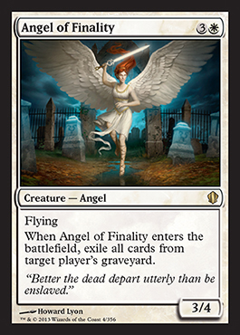 angel of finality card