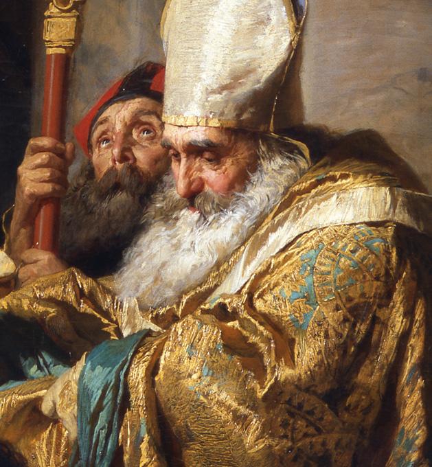 Gyula Benczúr - Baptism of Vajk - detail 1.jpg