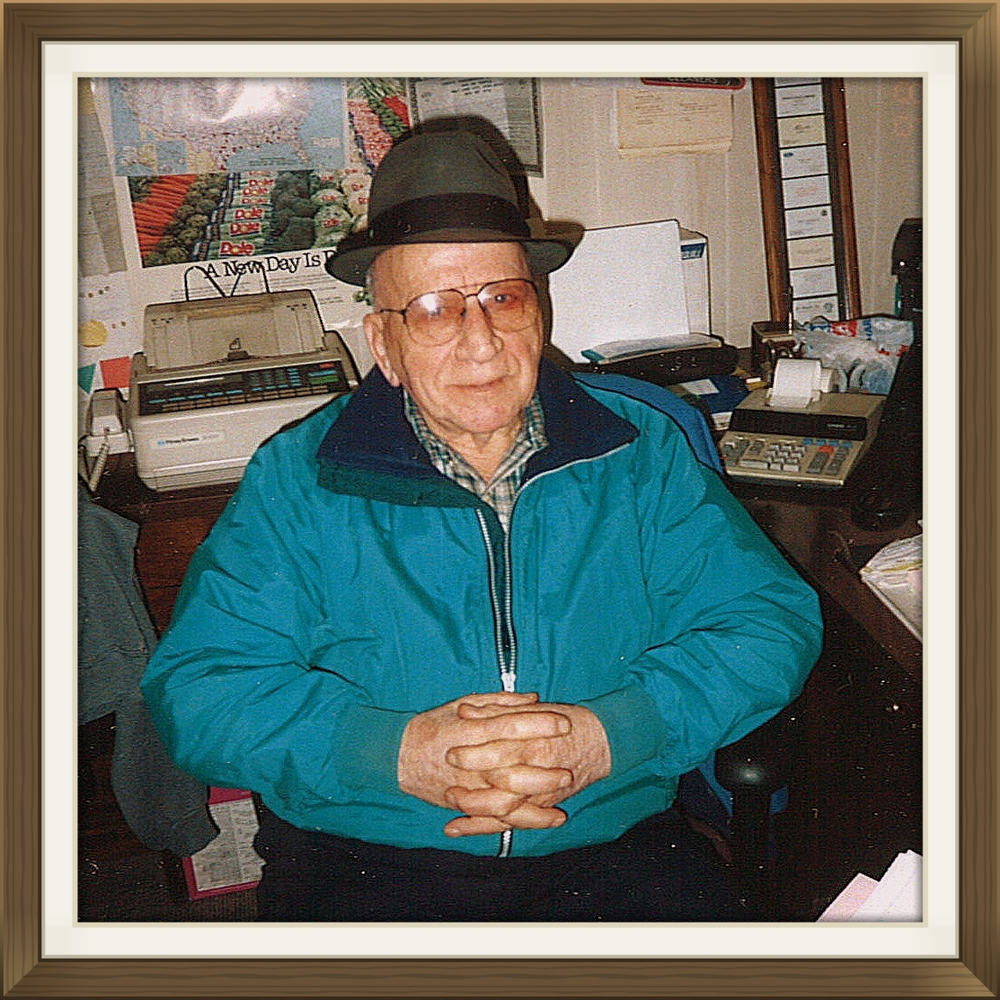 "Joe Granato Inc's Fruit and Produce Co. was the lifeblood of owner and founder Joe Granato. The son of Italian immigrants Sam and Mary Granato; Joe started in the produce business at Pacific Fruit after serving in the U.S. Army during World War II.  At age 44 he started his own wholesale fruit and produce warehouse at the old growers market where the Hilton now stands in Salt Lake City, taking orders from independent grocers. With hard work and dedication Joe was successful in expanding his company to include several delivery trucks delivering along the Wasatch front. The company moved to 551 South 600 West in the mid-1970's operating out of a 10,000 square foot facility.  In June of 2000, he opened the current warehouse at 46 South Orange Street. Granato's services restaurants and institutions with fresh fruit and vegetables grown across the world. Joe habitually came to work even in his later years as early as 3 a.m. He checked the coolers, made sure the vehicles were serviced, talked with customers and handled the banking. Marty, his son and company V.P. says ""Joe was here six days a week and sometimes on Sunday, this was his life.""  All of his children worked in the family business at some point. Known as a fair business man, a hard worker, and a giving individual Joe will always be a part of the success that bears his name."