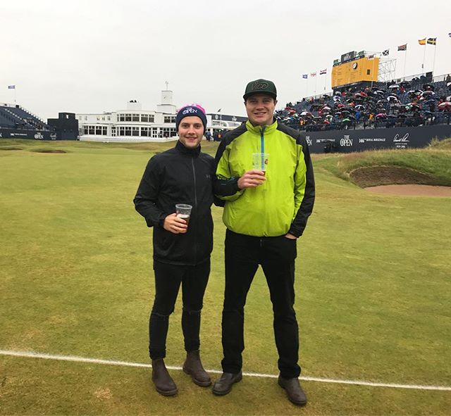 Awesome day @theopen ! So great to see the best players in the world. ⛳️ . . . . . . . #theopen #146thopen #golf #instagolf #tough #hackers #scrambling #birdie #eagle #bogey #par #scratch #lovethegolf #beef